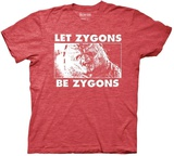 Doctor Who- Let Zygons Be Zygons T-shirts