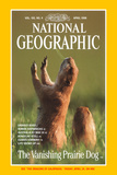 Cover of the April, 1998 Issue of National Geographic Magazine Photographic Print by Raymond Gehman