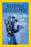 Cover of the January, 2010 National Geographic Magazine Photographic Print by Mark Thiessen