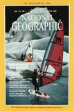 Cover of the March, 1988 National Geographic Magazine Fotografisk tryk af Chris Johns