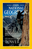 Cover of the April 1996 National Geographic Magazine Photographic Print by Bill Hatcher