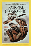 Cover of the September, 1979 National Geographic Magazine Photographic Print by David Arnold