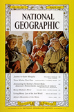 Cover of the March, 1962 National Geographic Magazine Fotografisk tryk af Dean Conger