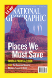 Cover of the October, 2006 National Geographic Magazine Photographic Print by Michael Melford