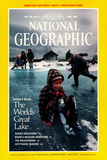 Cover of the June, 1992 National Geographic Magazine Fotografisk tryk af Sarah Leen