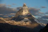 The Matterhorn Seen from Beside the Gorner Glacier Fotografisk tryk af Alex Treadway