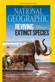 Cover of the April, 2013 National Geographic Magazine Photographic Print by Jon Foster