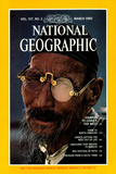 Cover of the March 1980 National Geographic Magazine Lámina fotográfica por Bruce Dale