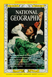 Cover of the March, 1965 National Geographic Magazine Reproduction photographique par Albert Moldvay