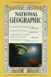 Cover of the April, 1960 National Geographic Magazine Photographic Print by Thomas J. Abercrombie