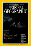 Cover of the October, 1995 National Geographic Magazine Fotografisk tryk af Michael Nichols