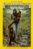 Cover of the October, 1975 National Geographic Magazine Reprodukcja zdjęcia autor Rodney Brindamour