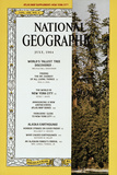 Cover of the July, 1964 National Geographic Magazine Fotografisk tryk af George F. Mobley