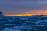 A Sunset over Grandidier Channel, Antarctica Photographic Print by Ralph Lee Hopkins