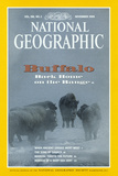 Cover of the November, 1994 National Geographic Magazine Photographic Print by Sarah Leen