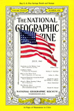Cover of the July, 1943 National Geographic Magazine Photographic Print by B. Anthony Stewart