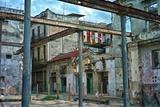Deteriorated Buildings in Old Havana Papier Photo par Kike Calvo