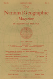 Cover of the January, 1898 National Geographic Magazine Photographic Print