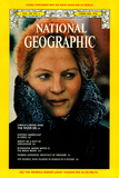 Cover of the February, 1976 National Geographic Magazine Fotografisk tryk af Dean Conger