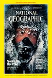 Cover of the September, 1986 National Geographic Magazine Fotografisk tryk af Jim Brandenburg