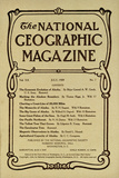 Cover of the July, 1909 National Geographic Magazine Photographic Print