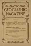 Cover of the January, 1910 National Geographic Magazine Photographic Print
