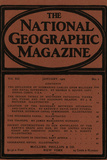 Cover of the January, 1901 National Geographic Magazine Photographic Print