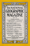 Cover of the July, 1954 National Geographic Magazine Photographic Print