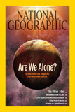 Cover of the December, 2009 Issue of National Geographic Magazine Photographic Print by Dana Berry