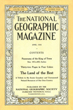Cover of the April, 1916 National Geographic Magazine Photographic Print