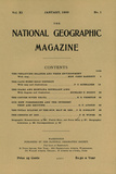 Cover of the January, 1900 National Geographic Magazine Photographic Print