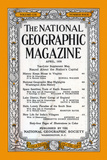 Cover of the April, 1956 National Geographic Magazine Photographic Print