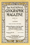Cover of the March, 1921 National Geographic Magazine Photographic Print