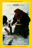 Cover of the March, 1990 National Geographic Magazine Photographic Print by Steve Raymer