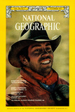 Cover of the November, 1976 National Geographic Magazine Photographic Print by Jonathan Blair