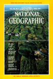 Cover of the April 1981 National Geographic Magazine Photographic Print by Cotton Coulson