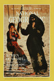 Cover of the October, 1987 National Geographic Magazine Fotografisk tryk af Jodi Cobb