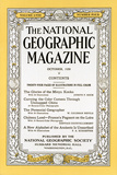 Cover of the October, 1930 National Geographic Magazine Photographic Print