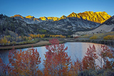 The Sun Rises over the Eastern Sierra Nevada in Bishop Creek Canyon, California Photographic Print by Gordon Wiltsie