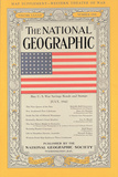 Cover of the July, 1943 National Geographic Magazine Photographic Print