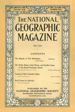 Cover of the May, 1912 National Geographic Magazine Fotografisk tryk