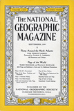 Cover of the September, 1934 National Geographic Magazine Photographic Print