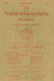 Cover of the February, 1898 National Geographic Magazine Photographic Print