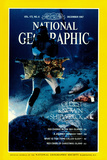 Cover of the December, 1987 National Geographic Magazine Photographic Print by Bill Curtsinger