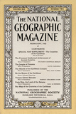 Cover of the February, 1922 National Geographic Magazine Photographic Print