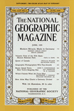 Cover of the June, 1959 National Geographic Magazine Photographic Print