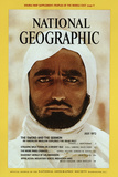 Cover of the July, 1972 National Geographic Magazine Fotografisk tryk af Thomas J. Abercrombie