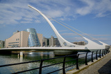 Samuel Beckett Bridge and the Convention Centre Dublin (Ccd) in the Dublin Docklands Photographic Print by Tim Thompson