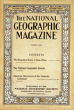 Cover of the March, 1912 National Geographic Magazine Photographic Print