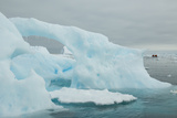 A Blue Iceberg in Grandidier Channel, Antarctica Photographic Print by Ralph Lee Hopkins
